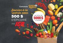 IGA - Concours 35e Coup De Pouce x IGA