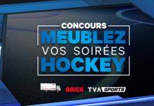 TVA Sports - Concours Meublez Vos Soirées Hockey