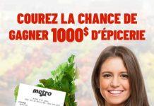 Concours Metro Sondage 2020