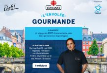 Concours Radio-Canada Les Chefs 2020