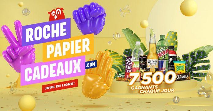 Concours Couche Tard Roche Papier Cadeaux 2020