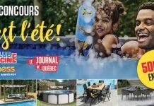 Concours Journal De Québec Club Piscine 2021