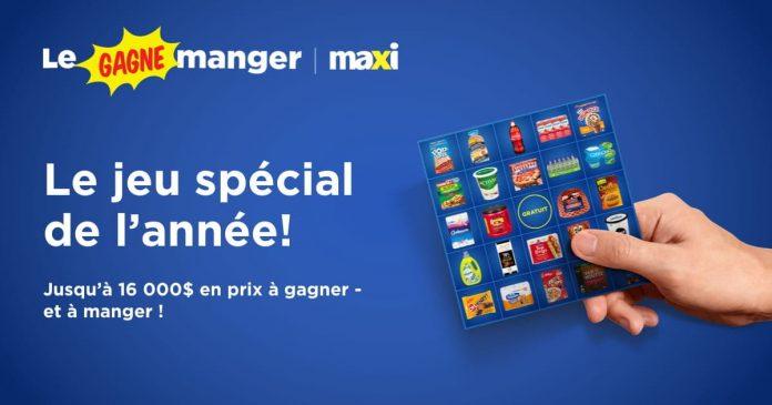 Concours Le Gagne Manger Maxi 2021