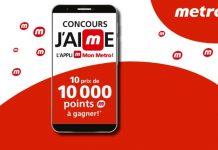 Concours Metro Et Moi J'aime l'appli Mon Metro 2020
