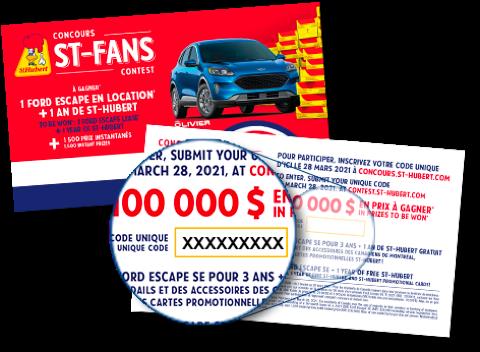 Concours St-Hubert St-Fans 2021