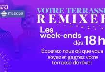 Concours Radio Canada Votre Terrasse Remixée